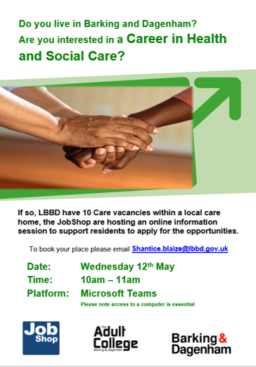 A career in Health and Social Care